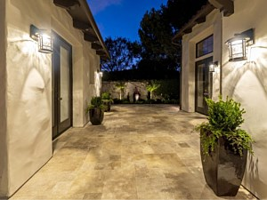 Travertine Paverstone Patio 003