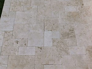 Travertine Paverstone Patio 011