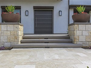 Travertine Paverstone Walkway 001